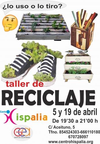 TALLER DE RECICLAJE