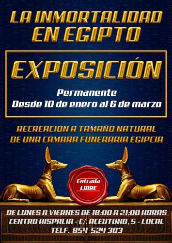 EXPOSICIÓN DE EGIPTO