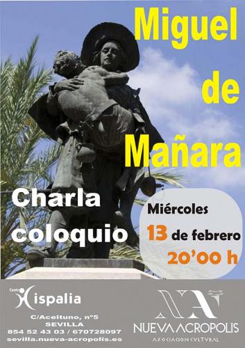 Charla Coloquio Miguel de Mañara